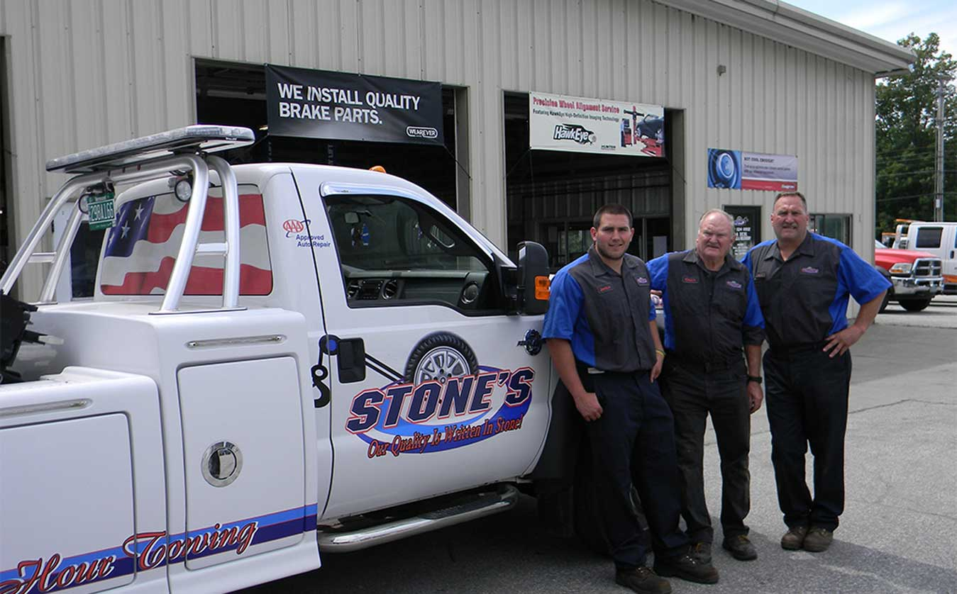 Stone's Towing, St. Albans, Vermont